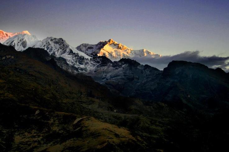 Kangchenjunga Peak - Sikkim, India