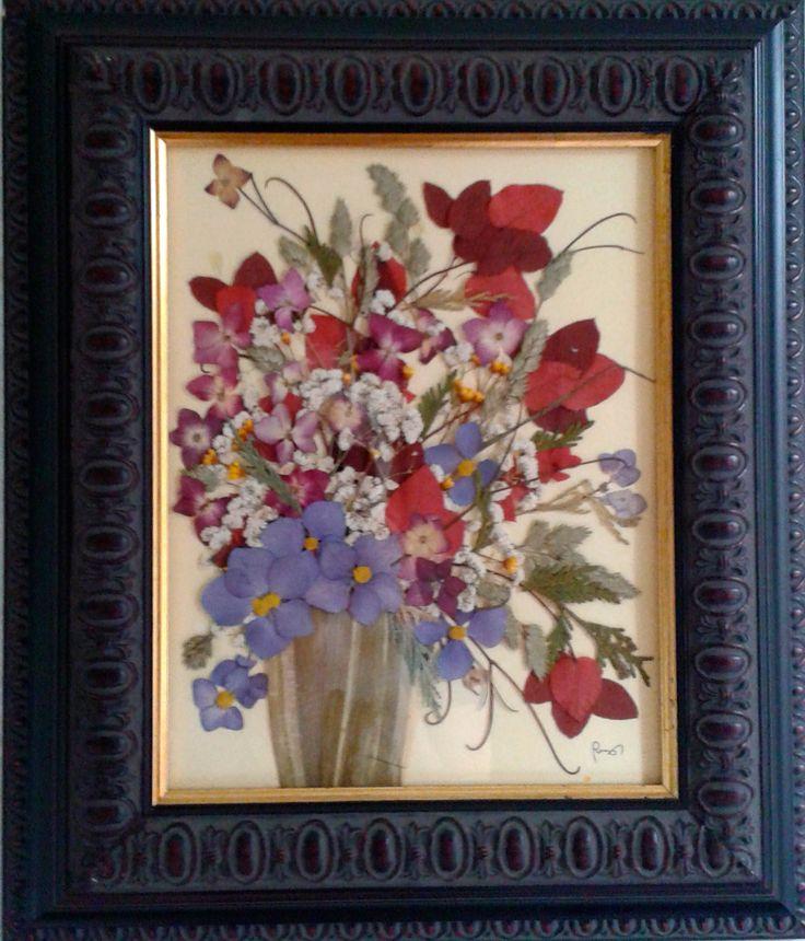 15 best quadri con fiori secchi images on Pinterest | Decorated ...