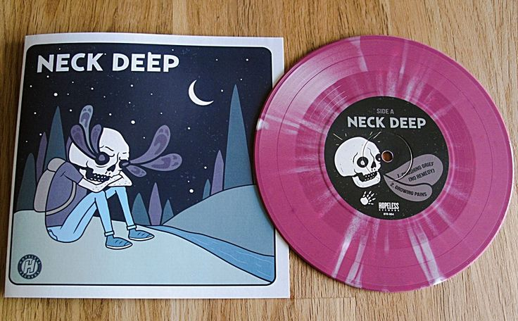 Neck Deep Knuckle Puck Split 7 Vinyl Pinterest