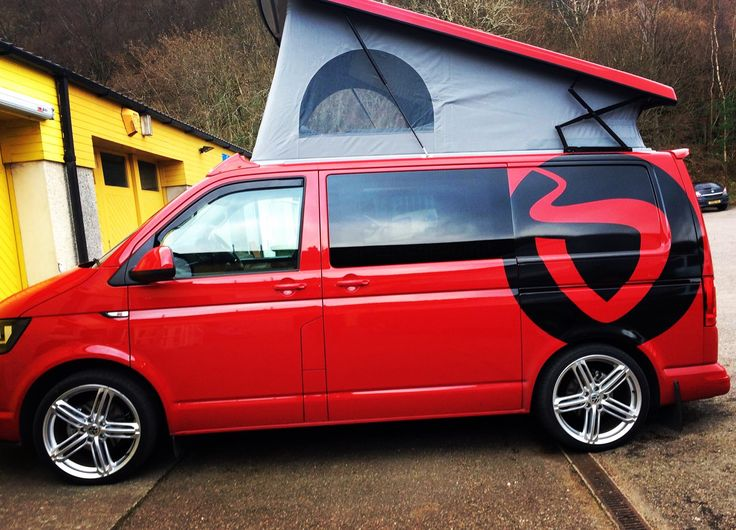 Ruby's had a little makeover...  Not quite done yet!! ;) #VW  #CampervanConversion #Fortwilliam #Scotland #VGC