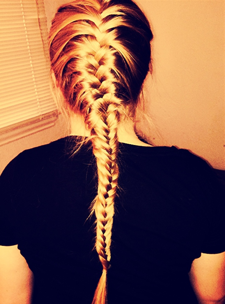 17 Best Images About Hair Amp Beauty On Pinterest Dutch French Braid Waterfalls And French Fishtail