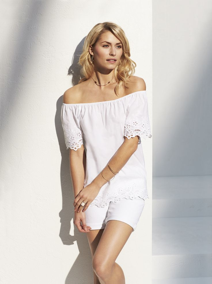 Crushing on Crochet: the crochet top is delicate, detailed and oh-so pretty.