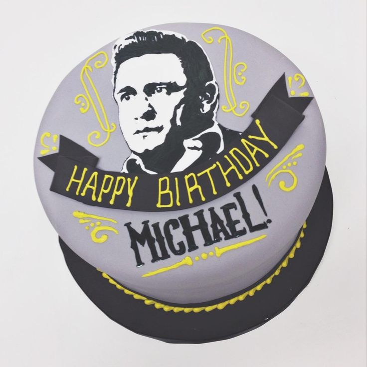 Johnny Cash Cake // NashvilleSweets.com