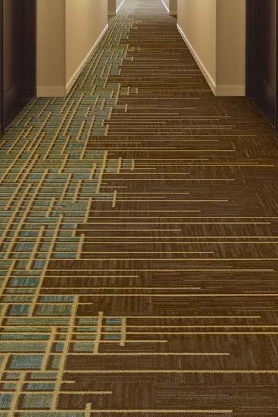 Casino carpet design