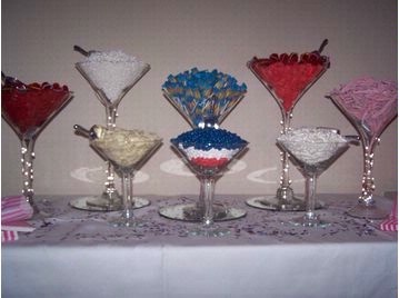 Martini Gles Partymartiniscandy Buffet21st