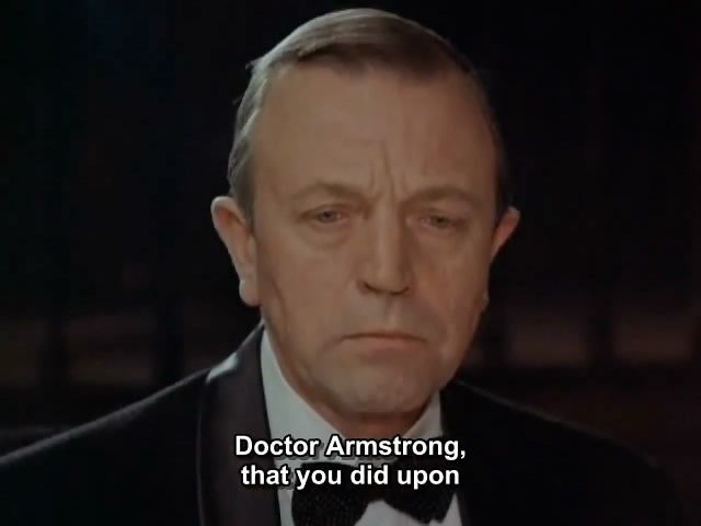 ANATOLY ROMASHIN as DOCTOR ARMSTRONG