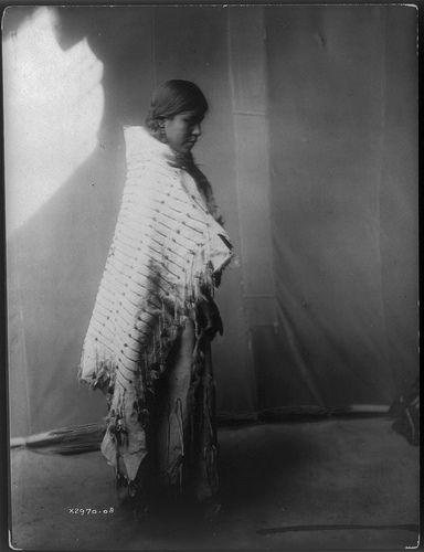 Native American Edward Curtis Atsina Woman   Griffin LB   Flickr