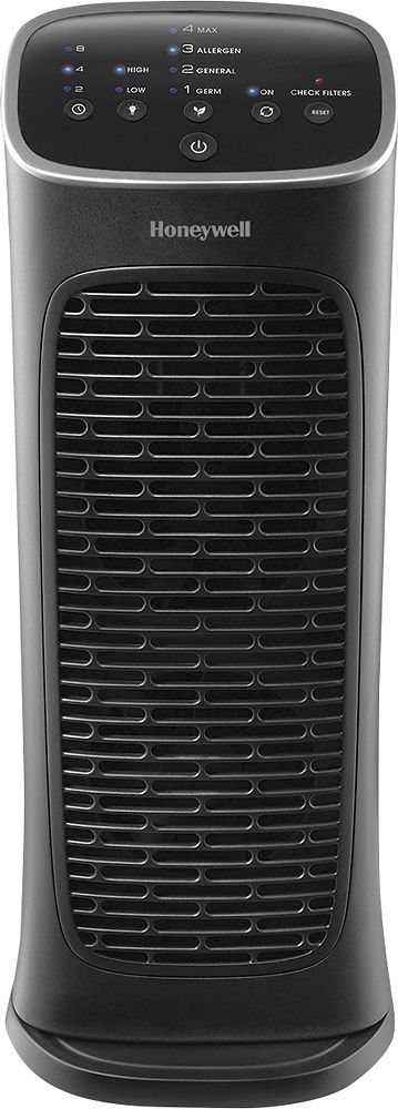 Honeywell Compact Airgenius 4 Tower Air Purifier Black
