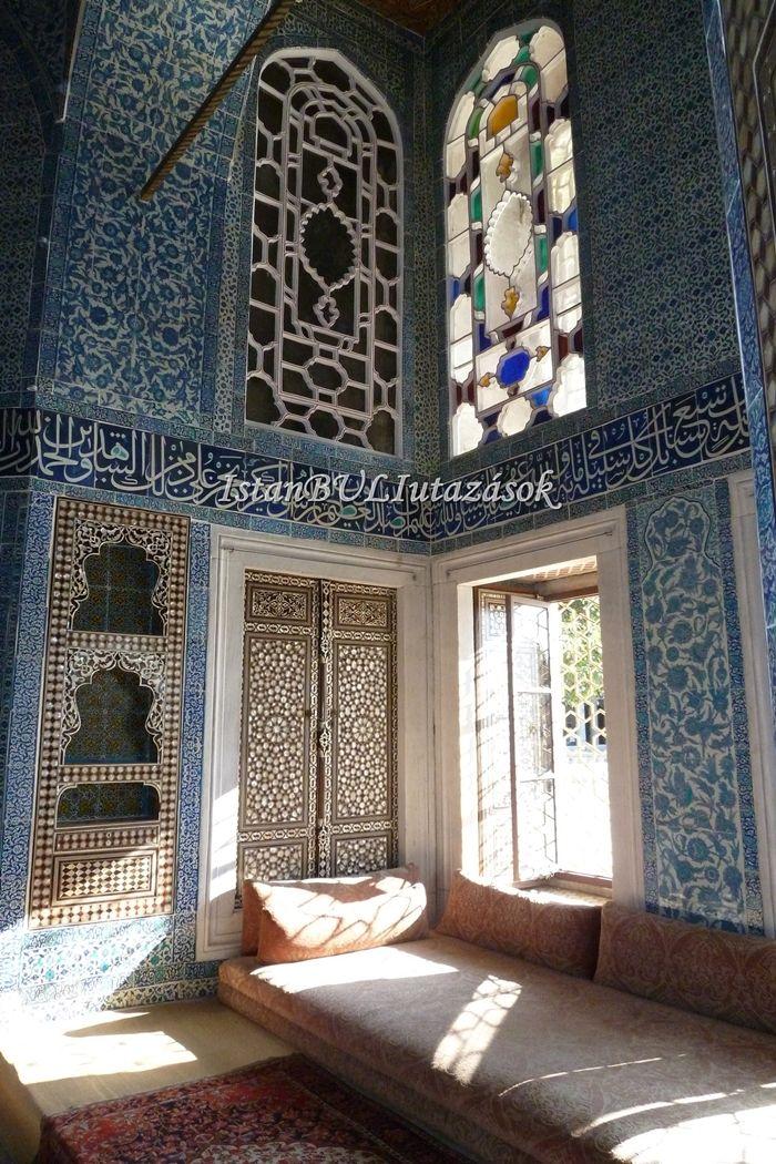 Szulejmán Szultán palotájának belseje