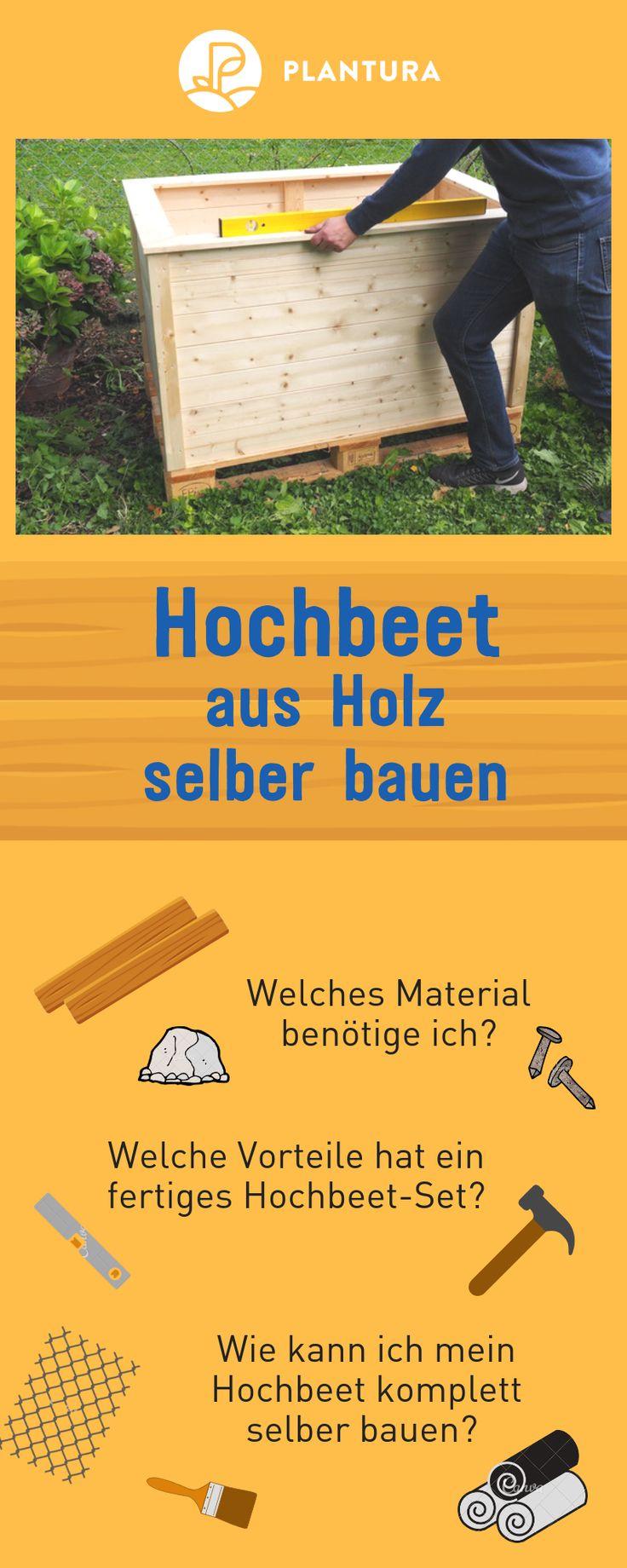 Hochbeet bauen: Anleitung zum selber bauen & Video