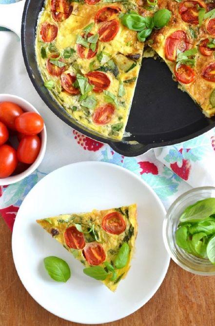 Quiche de verduras, sin gluten   #Receta de cocina   #Vegana - Vegetariana ecoagricultor.com