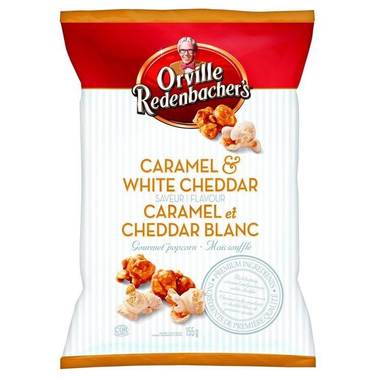 Orville Redenbacher's Caramel & White Cheddar Popcorn #OrvilleCWC @influenster