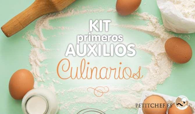 Kit de primeros auxilios culinarios ¿Qué necesito saber?