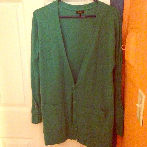Nollie Turquoise Cardigan Pac Sun Nollie Cardigan in turquoise. Nollie Jackets & Coats