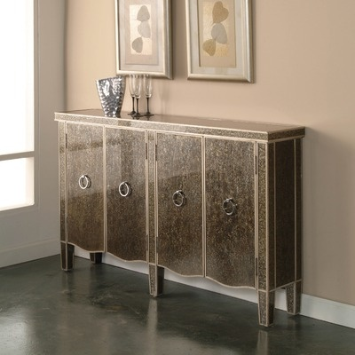 Pulaski Furniture  Living Room Credenza Metallic Gold For Sale