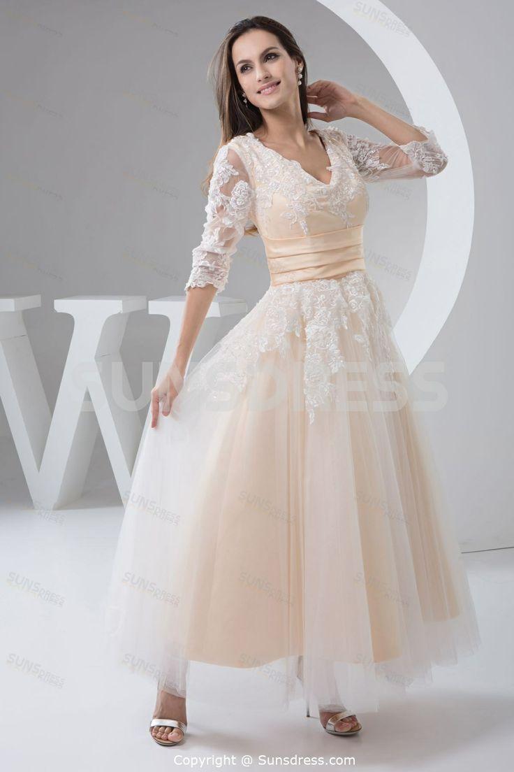32 best vintage wedding dress images on Pinterest | Short wedding ...