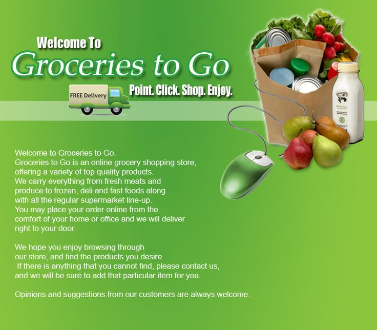 This was a student project at Georgian College for a ficticious online grocery store.