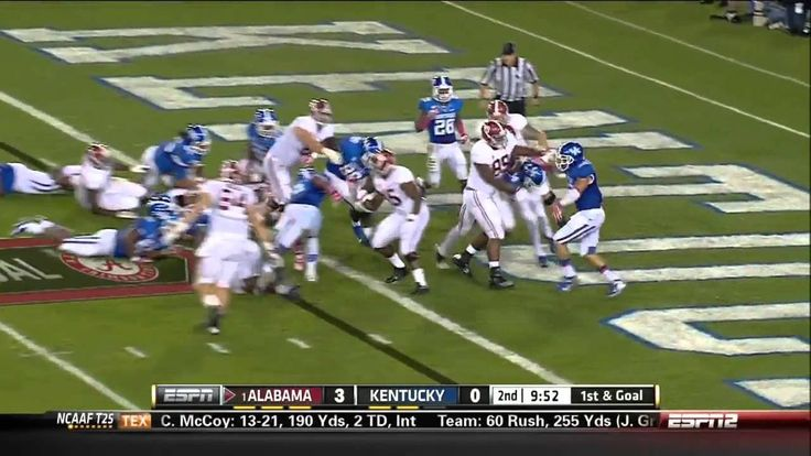 2013 #1 Alabama vs. Kentucky (HD)