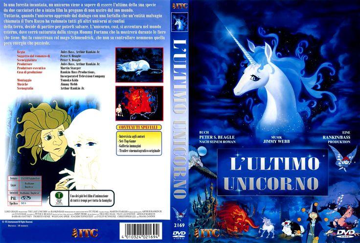 L'ultimo unicorno (The last Unicorn, 1982), Dvd cover Ita custom (4271x2888)