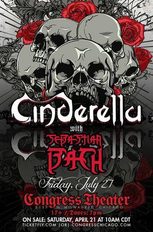 cinderella rock band | Concert Review: Cinderella - Chicago 7/27/2012 Congress Theatre