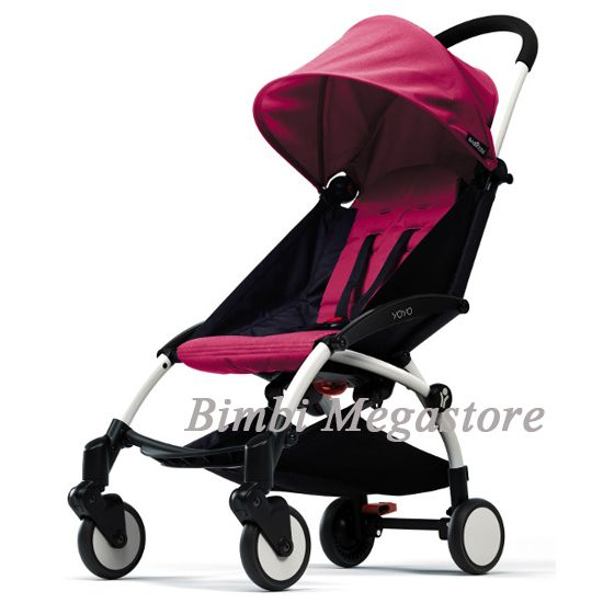 Passeggino con chiusura ad ombrello YoYo della Babyzen Color: raspberry sorbet Su BimbiMegastore
