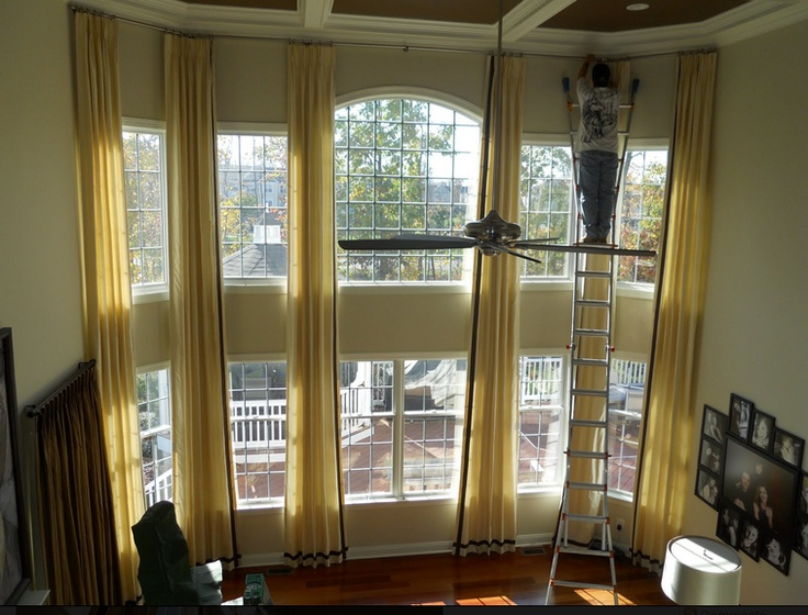 Two Story Living Room Curtains Curtain Menzilperde Net
