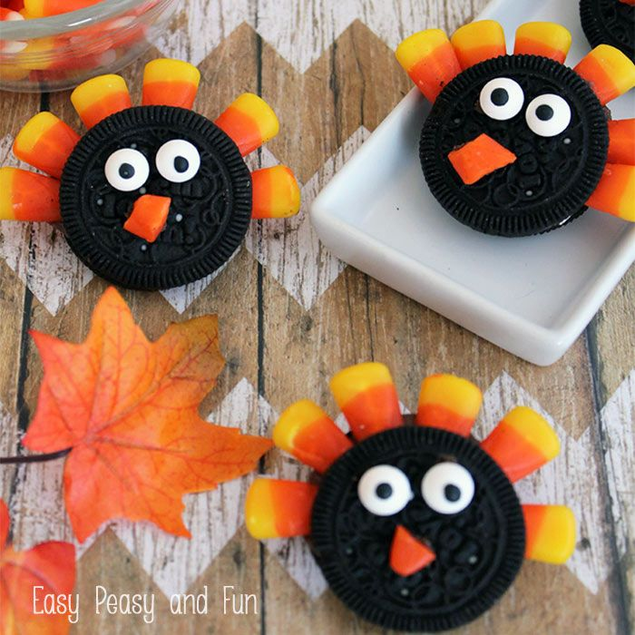 I'm sure you'll have some left over candy corn from Halloween and what better way to use it than to make these Simple Turkey Cookies just in time for Thanksgiving. You can serve these along with the leaf cookies that are super easy to make too! These are insanely fun looking and really easy to …