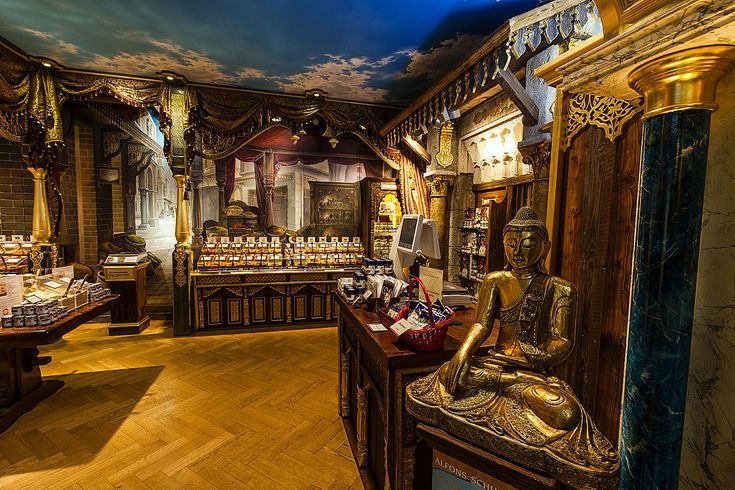 The opulence of the Orient in striking light: Schuhbeck's world of fine spices, Munich