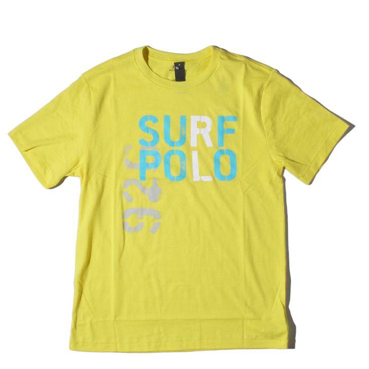 POLO RALPH LAUREN(ポロ・ラルフローレン) ORIGINAL PRINT S/S TEE / オリジナル プリント 半袖 Tシャツ / YELLOW【smtb-TK】