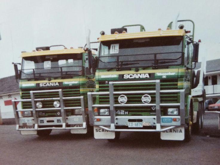 Pin by Kay Howells on log trucks Road train, Old trucks