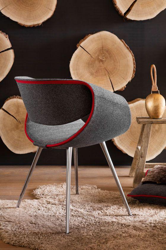 "Dauphin Home's ""Little Perillo"" chair                                                                                                                                                                                 More"