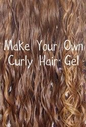 You can make your own hair gel for just pennies using all natural ingredients that nourish and soften your hair. This easy 10 minute hair gel recipe will define your curls.
