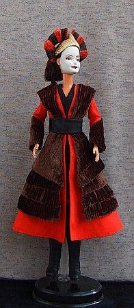 Handmaiden Sabé - Star Wars, episode I,  OOAK Barbie