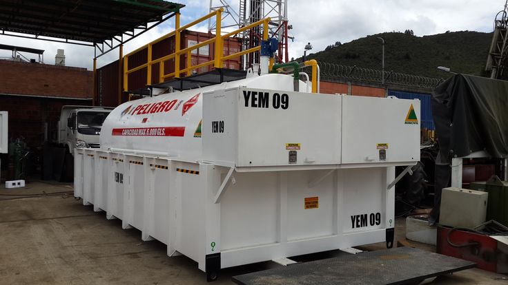 Tanques estacionarios para almacenamiento y despacho de combustible en operaciones industriales. Speed Solutions. Control de flotas.