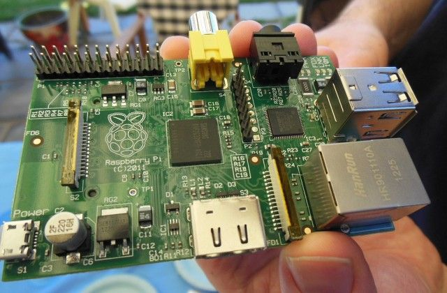 The Raspberry Pi: One year since launch, one million sold - The Raspberry Pi is a credit-card-sized single-board computer developed in the UK by the Raspberry Pi Foundation with the intention of promoting the teaching of basic computer science in schools