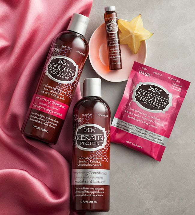 Hask Argan Oil and Keratin Protein Haircare Products Review via @BeautyTidbits