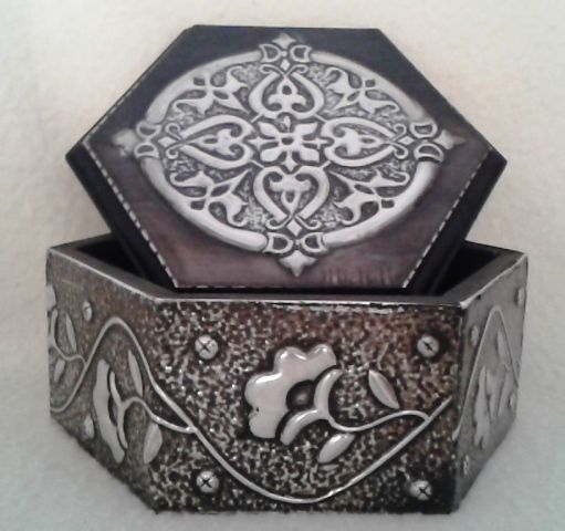 Small Trinket Box. www.pewterboutique.co.za