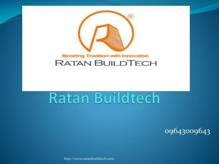Ratanbuildtech offers 2, 3 BHK apartments located at best location Noida, Noida Extension, Greater Noida West.