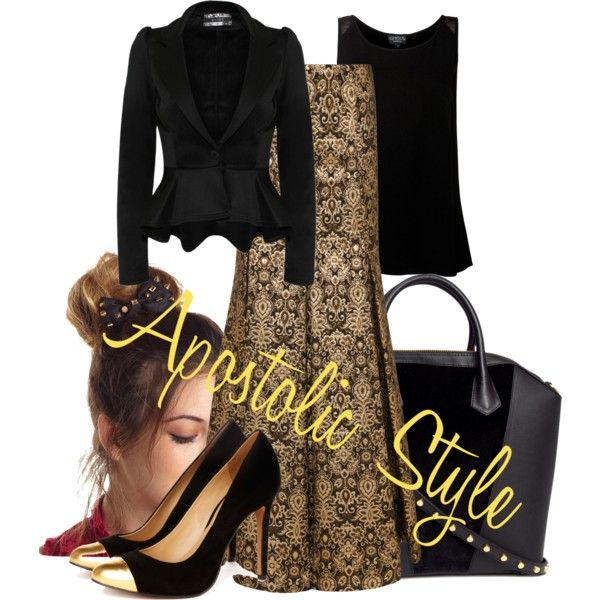 """Church Apostolic Style"" by emmyholloway on Polyvore"
