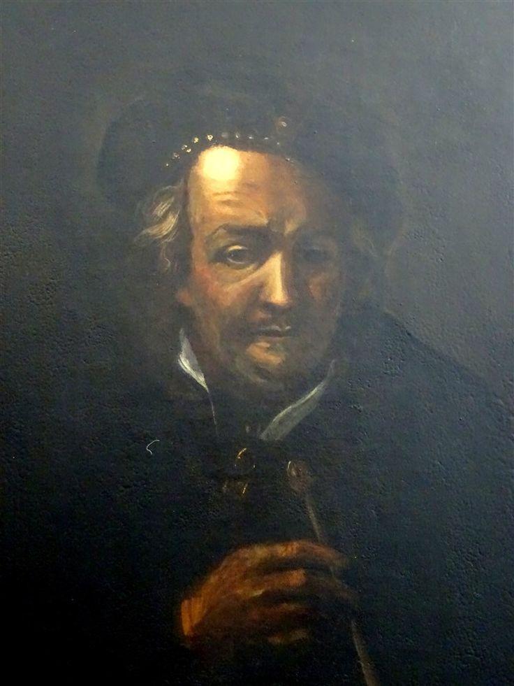 Dans Le Goût De Rembrandt Autoportrait Hst Ec.hollandaise 17ème, ARTE TRES GALLERY, Proantic