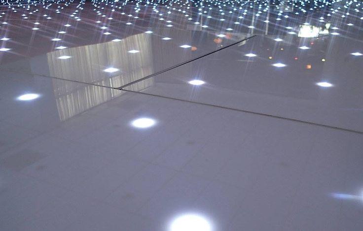 white LED dance floor..stunning!