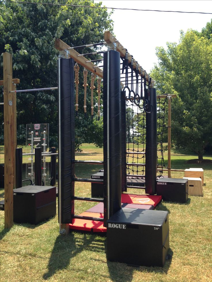 Backyard Gymnastics Bars : Monkey bars + Backyard Ninja, Backyard Gym, Outdoor, American Ninja