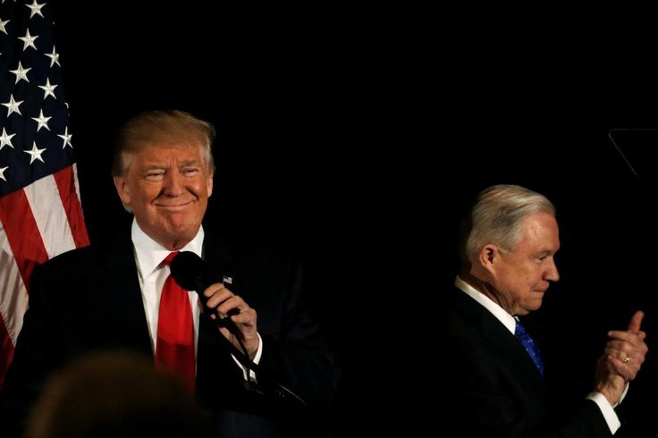President Donald Trump continued his attacks on Attorney General Jeff Sessions on Tuesday morning tweeting that he has hastaken a VERY weak position on Hillary Clintons crimes and leaks from the intelligence community.  Ukrainian efforts to sabotage Trump campaign  quietly working to boost Clinton. So where is the investigation A.G.@seanhannityTrump tweetedearly Tuesday.Attorney General Jeff Sessions has taken a VERY weak position on Hillary Clinton crimes (where are E-mails & DNC server)…