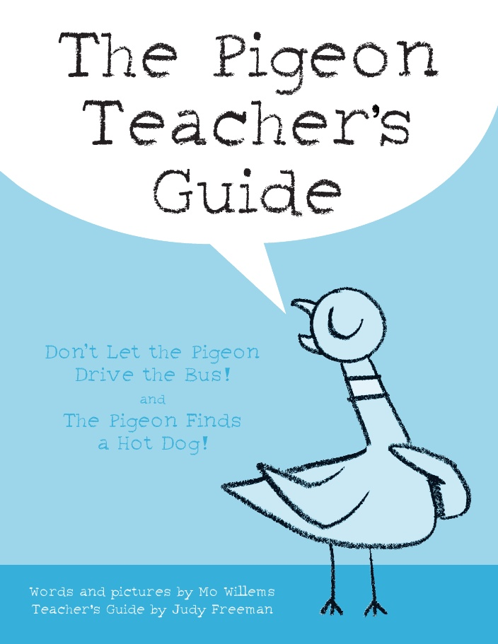"great activities for ""don't let the pigeon drive the bus"" and ""the pigeon finds a hot dog"""