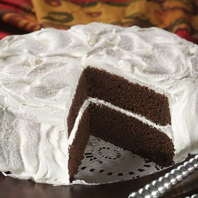 Surprise your family and friends with this lower-calorie chocolate cake! This recipe uses Splenda® Sugar Blend for Baking and you'll love the great tastes in this perfect-for-entertaining or special family occasions cake.