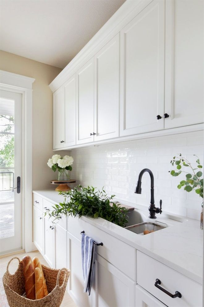 Lakeview Home Butler S Pantry With Loren Loloi Patterned