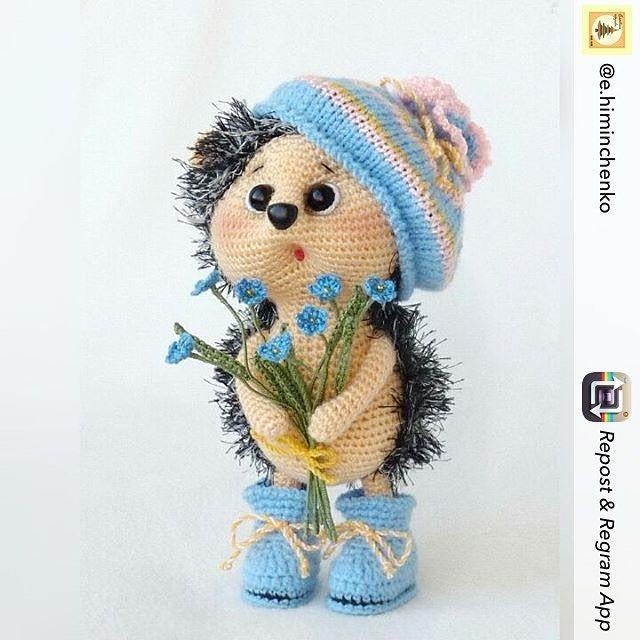 Repost from @e.himinchenko using @RepostRegramApp - Снова Ёжик   С незабудками! Весна!!! Связан по МК Тори Яровиковой @toryyarovikova #amigurumi#crochet#knitting#cute#handmade#амигуруми#вязание#игрушки#интересное#ручнаяработа#рукоделие#weamiguru#вяжутнетолькобабушки #toys_gallery #ежик #весна #жизньхороша #милое #милашество #ёж #ежики #вяжуслюбовью #вяжупродаю #очаровашка #назаказ #ёжик #hedgehog by villy_vanilly_shop