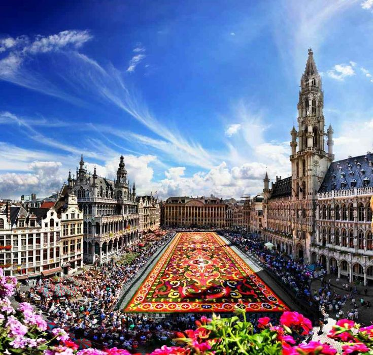Moving to Brussels - 'life changing'