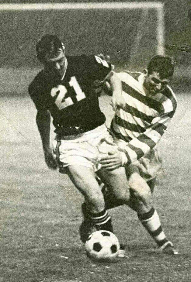 Glentoran (Detroit Cougars)  Vs Shamrock Rovers ( Boston)