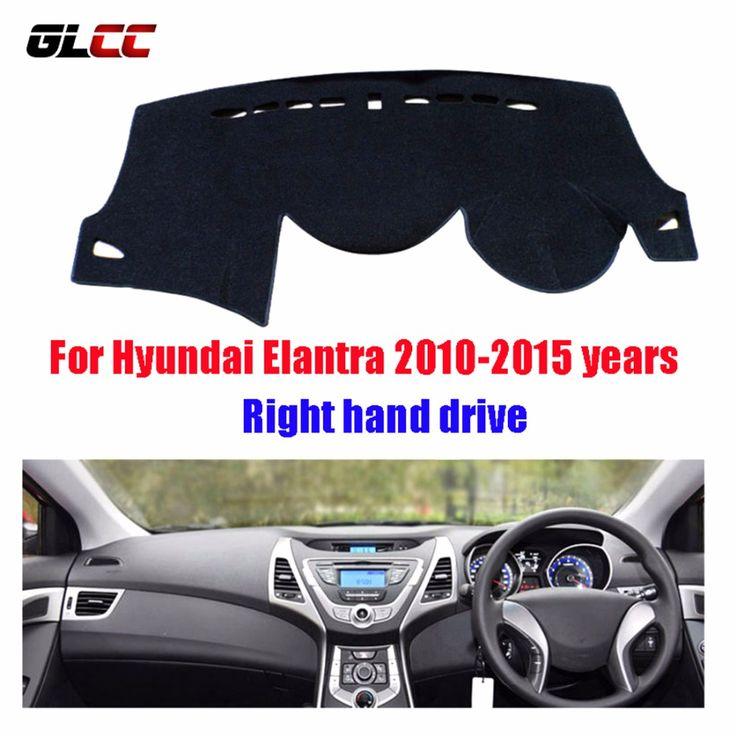 Car dashboard covers mat for Hyundai Elantra 2010-2015 years Right hand drive dashmat pad dash cover auto dashboard accessories #Affiliate